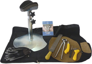 Leather Apron & Hoof Stand Complete Kit