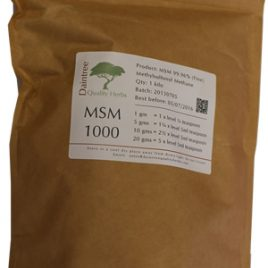 MSM 1kg – Nutritional Supplement