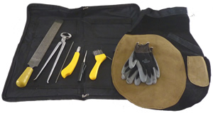 Basic Kit plus Protective Gear – Leather Apron
